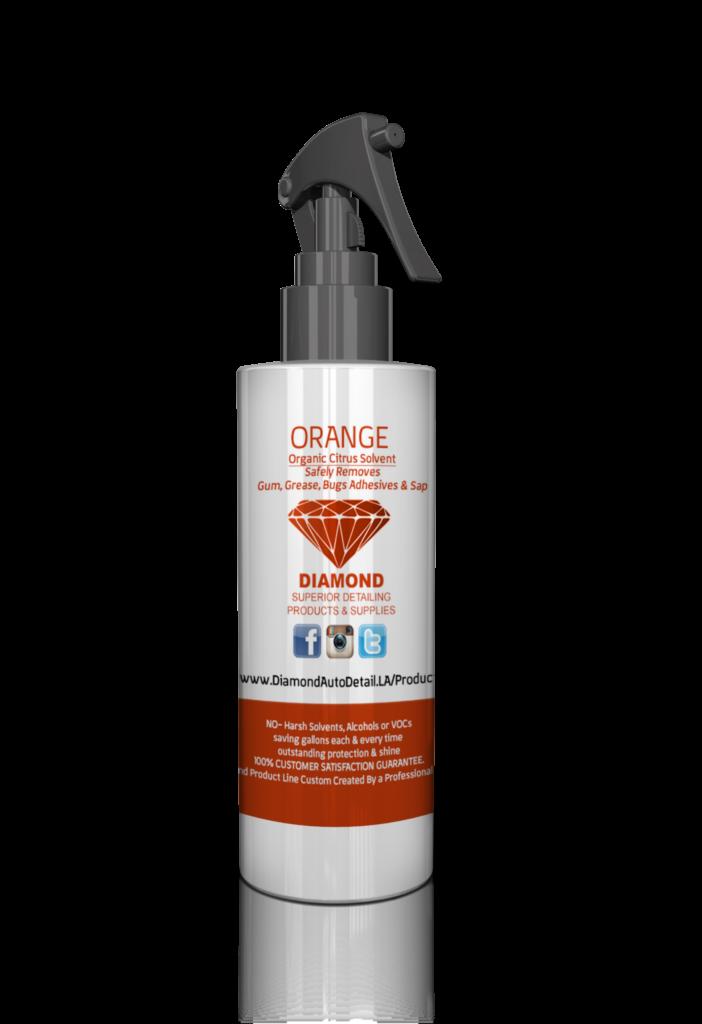 orange spray